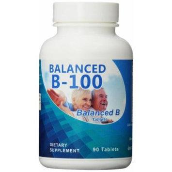 Eden Pond Balanced B-100 Supplement, 90 Count
