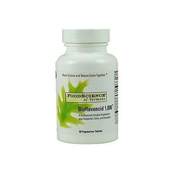 FoodScience of Vermont Bioflavonoid 1000, Tablets 60 ea