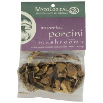 Mycological Dried Imported Porcini Mushrooms, 1 Ounce Package