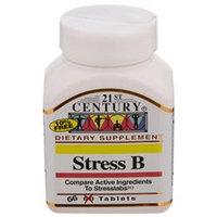 21st Century Healthcare Stress B 66 Tablets, 21st Century Health Care