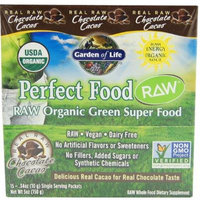 Garden of Life - Perfect Food RAW Super Green Formula (15 x 10 g) Chocolate Cacao - 15 Packet(s) - (150 g)