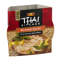 Thai Kitchen Soup Bowl Rice Noodle Roasted Garlic