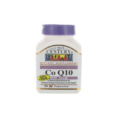 21st Century Healthcare Co-Q10 60 mg 75 Capsules, 21st Century Health Care