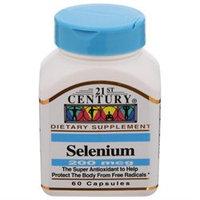 21st Century Healthcare Selenium 200 mcg 60 Capsules, 21st Century Health Care