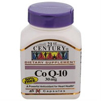 21st Century Healthcare Co-Q10 30 mg 45 Capsules, 21st Century Health Care