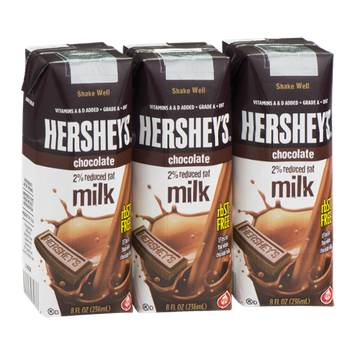 Hershey's 2% Reduced Fat Milk Chocolate - 3 CT