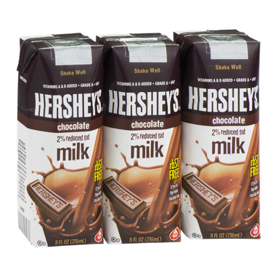 Hershey's 2% Reduced Fat Milk Chocolate - 3 CT