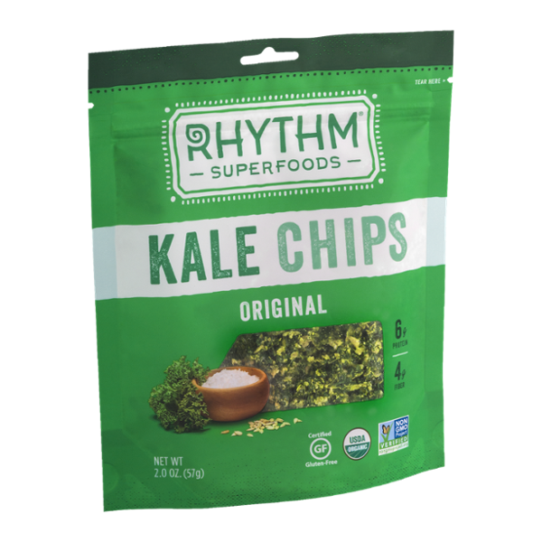 Rhythm Superfoods Kale Chips Original
