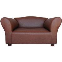 Fantasy Furniture Mini Sofa Leatherette Pet Bed