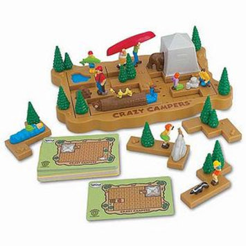 Huntar Company Crazy Campers Brainteaser Puzzle Ages 8 and up