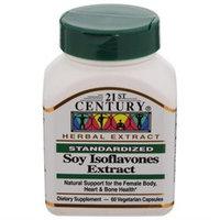 21st Century Healthcare Soy Isoflavones Extract 60 Vegetarian Capsules, 21st Century Health Care