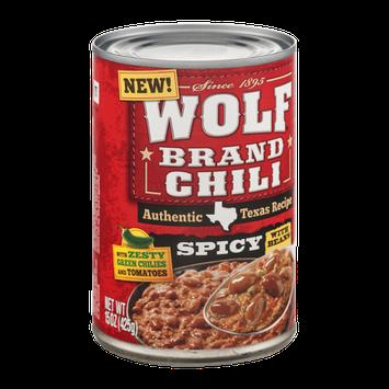 Wolf Brand Chili Spicy