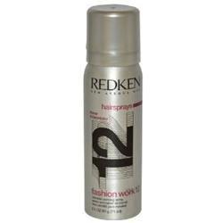 Redken U-HC-4779 Fashion Work 12 Working Spray - 2.1 oz - Spray