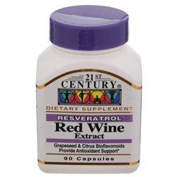 21st Century Vitamins Resveratrol Red Wine Extract Caps