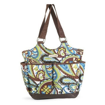 Timi And Leslie timi & leslie Tag - a - Long Diaper Bag, Sahara Brown (Discontinued by Manufacturer)