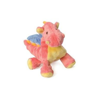 Sherpa Pet Go Dog Toys Baby Dragon Mini W/Chewguard - Coral