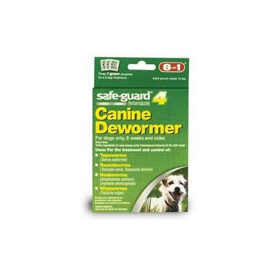 8 In 1 Pet Products DEOJ71611 Safeguard Wormer For Small Dogs