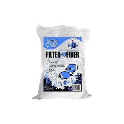 H2o Aquatics Loving Pets Loving Pets Lov Filter Fiber 8 oz.