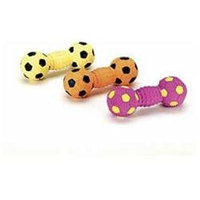 Ethical Pet Products Ethical Pet Fiber Filled Latex Dumbbell Dog Toy
