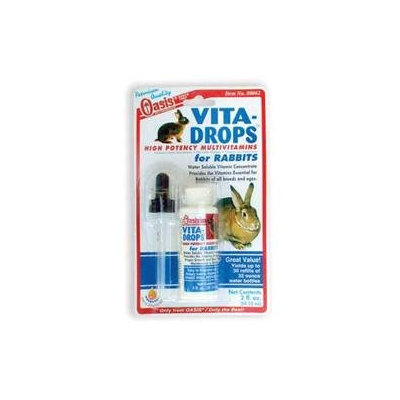 Oasis Vita Drops for Rabbits - 2 oz