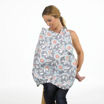 Balboa Baby Nursing Cover in Grey Dahlia