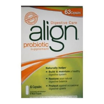 Free Shipping with Cheap !!! Align Probiotic Digestive Care - 63 Capsules