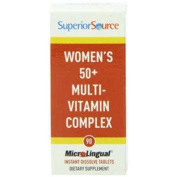 Superior Source Women's 50 Plus Multivitamin Complex Tablets, 90 Count