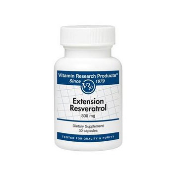 Vitamin Research Products Extension Resveratrol - 30 Capsules