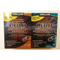 Kirkland Signature Day (2x60ct)/Night Time (48ct) Cold Multi-symptom, Rapid Release Gelcaps