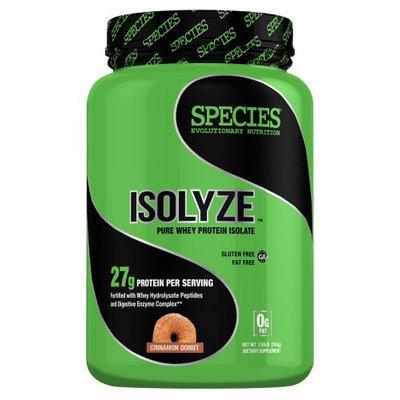 Species Nutrition Isolyze Cinnamon Donut - 22 Servings