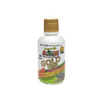 Nature's Plus Animal Parade Gold Liquid Multi-Vitamin, Tropical Berry 16 fl oz (473.18 ml)