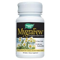 tures Way Nature's Way MygraFew, Standardized Feverfew Extract, 90 tablets