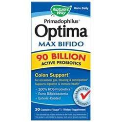 Nature's Way Primadophilus Optima Max Bifido 90 Billion
