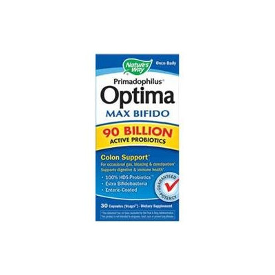 Nature's Way Primadophilus Optima Max Bifido 90 Billion
