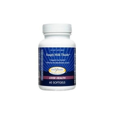Enzymatic Therapy Simply Milk Thistle - 60 Softgels