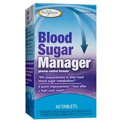 Enzymatic Therapy Blood Sugar Manager - 60 Tablets
