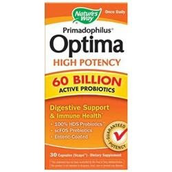 Nature's Way Primadophilus Optima High Potency 60 Billion
