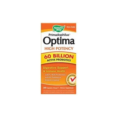 Nature's Way Primadophilus Optima High Potency 60 Billion