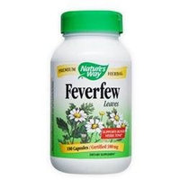 tures Way Nature's Way, Feverfew Leaves 380 mg 180 Capsules