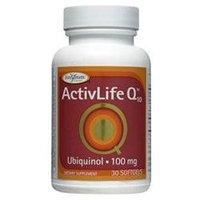 Enzymatic Therapy ActivLife Q10 Ubiquinol 100 mg Softgels