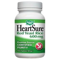 tures Way Nature's Way HeartSure Red Yeast Rice - 120 Vcaps