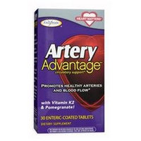 Enzymatic Therapy Artery Advantage - 30 Enteric-Coated Tablets