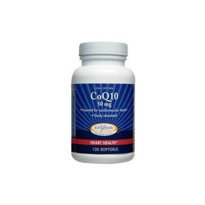 Enzymatic Therapy - CoQ10 50 mg. - 120 Softgels