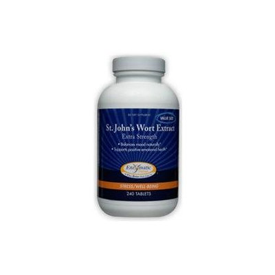 Enzymatic Therapy St John's Wort Extract - 240 Tablets