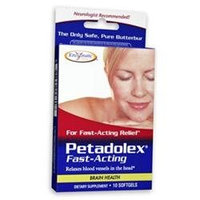Enzymatic Therapy Petadolex Fast-Acting - 10 Softgels