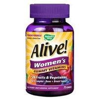 tures Way Nature's Way - Alive Women's Gummy Vitamins - 75 Gummies