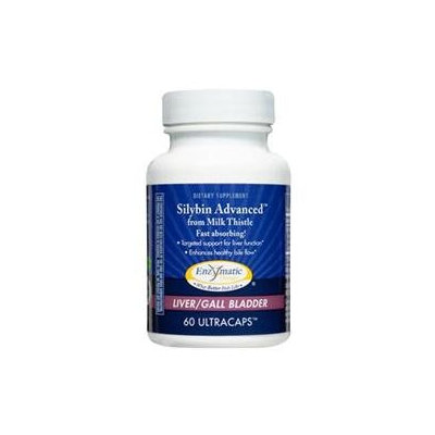 Enzymatic Therapy - Silybin Advanced from Milk Thistle - 60 Vegetarian Capsules