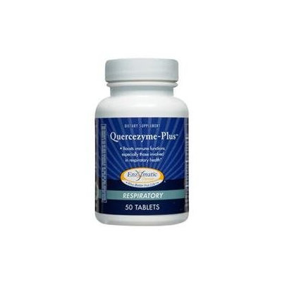 Enzymatic Therapy Quercezyme-Plus Respiratory - 50 Tablets