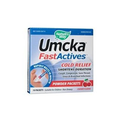 tures Way Nature's Way Umcka FastActives ColdCare - Cherry