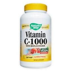 tures Way Nature's Way Vitamin C-1000 with Bioflavonoids - 250 Vcaps